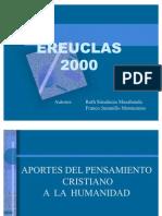 Aporte Del to Cristiano a La Humanidad Ereuclas 2000