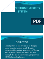 Gsm Based Home Security