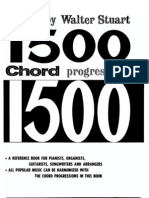 1550 Chord Progressions by Walter Stuart
