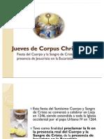 Jueves de Corpus Christi