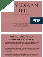 penyediaan RPH