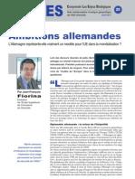 Ambitions allemandes - Note d'Analyse Géopolitique n°25