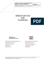 Appendix G - Specification for Flooring