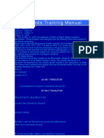 Al Qaeda Training Manual
