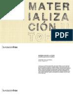 Catálogo Materialización vs Utopía