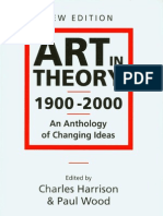 Art in Theory 1900-2000, Introduction