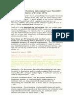 Paperwork ADD Mathematics Form5