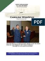 North Carolina Wing - Nov 2007
