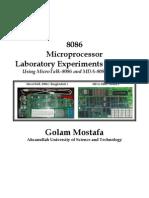 8086 Lab Manual