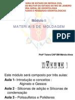 PEC-ASB - Materiais  de Moldagem - Aula 1