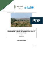 Situation socioéconomique des ménages dans le District de Morafenobe et impact de la crise sociopolitique au niveau des ménages (PADR, ROR, UNDP, UNICEF/2011)