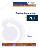 Service Assurance Market Review Jun09[1]