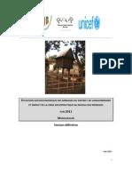 Situation socioéconomique des ménages dans le District de Vangaindrano et impact de la crise sociopolitique au niveau des ménages (PADR, ROR, UNDP, UNICEF/2011)