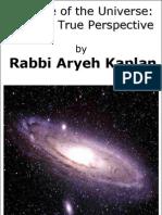 Book Genesis & Age of Universe, by Aryeh Kaplan