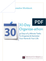 30 Day Organize-athon