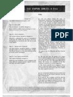 Tau Empire FAQ 2006-08-5th Edition