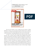 Compte Rendu de Dom Juan