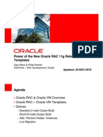 RAC OVM Templates Overview