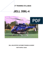 206L-4 Pilot Ground and Flight Syllabus June 2009