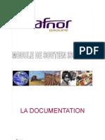 ISO 22000 Module de Soutien n 5 La Documentation[1]