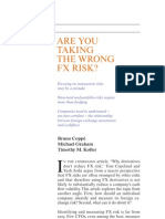 1996 Are You Taking the Wrong FX Risks