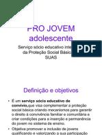 PRO JOVEM Adolescente Slides