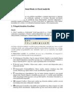 Excel Makrojegyzet