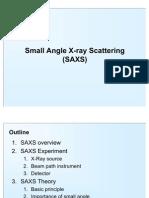 SAXS Presentation