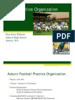 Auburn HS Practice Organization