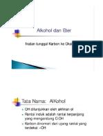 Alkohol Dan Eter