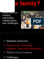 Vincentian Family Spirituality, Collaboration, Challenges