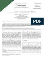Multi Modal Human-computer Interaction a Survey