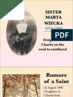 Sr. Marta Wiecka