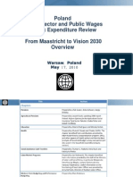 From Maastricht to Vision 2030 - World Bank Public Expenditure Review for Poland (PER), Overview, 2010.05.17