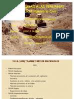 Transporte d materiales