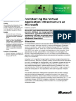 App-V Architect Ing the Virtual Application Infrastructure at Microsoft