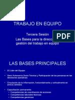 03 -bases para la direccion y gestion del EQUIPO de trabajo