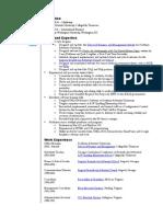 Kuhlman Resume Functional July 22 2010