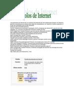 Los protocolos de Internet son un conjunto de protocolos de red creados para enlazar vía Internet y permitir la transferencia de datos entre redes de computadoras