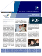 CSSJ Newsletter Vol 4 No 2 (Spring 2009)