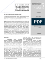 A Comparative Study on Analytical Method-Aop0311