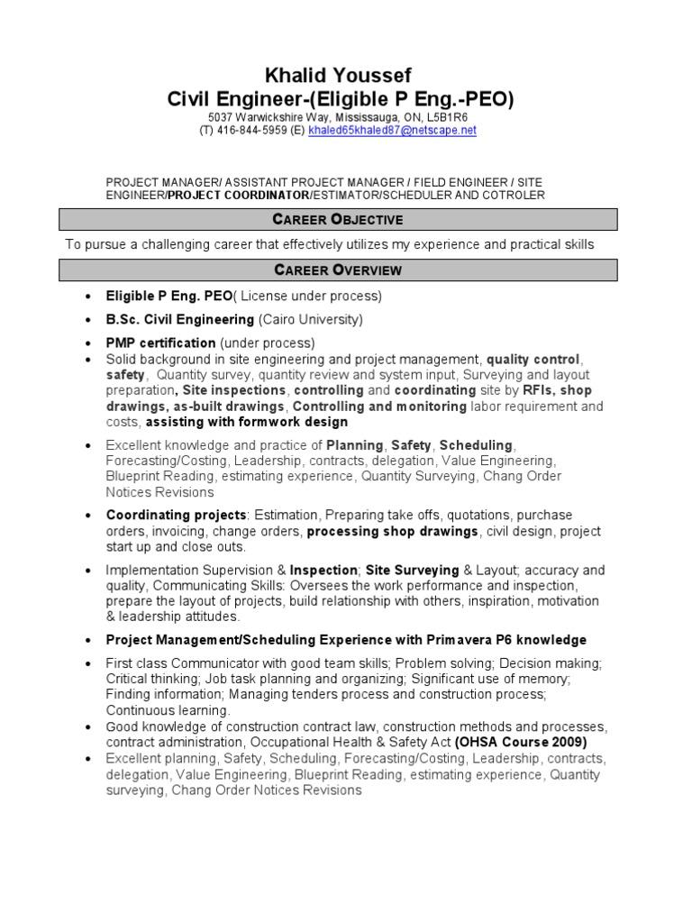 3547khalidyoussefcivil Project Management Geotechnical Engineering