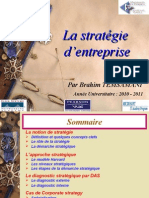 La Stratgie 3me Annee 2009.2010 2me Partiel