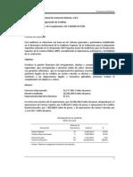 2009 Otorgamiento y Recuperación de Créditos