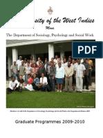 Sociology Brochure 2009-2010