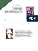 Diversification of Jute Fibres