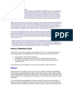 History of Banking Industry