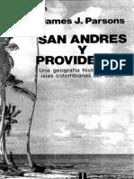 Parsons James- San Andrés y Providencia una Geografía histórica de las islas colombianas del Caribe