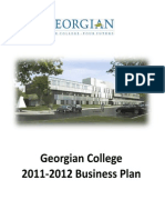 2011 12 Business Plan With Budget Mtcu Submission