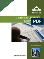 Gestion de Costos y Presupuestos m03 Info
